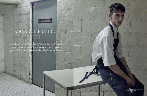 ©Pablo Arroyo - L'Officiel Homme Italie