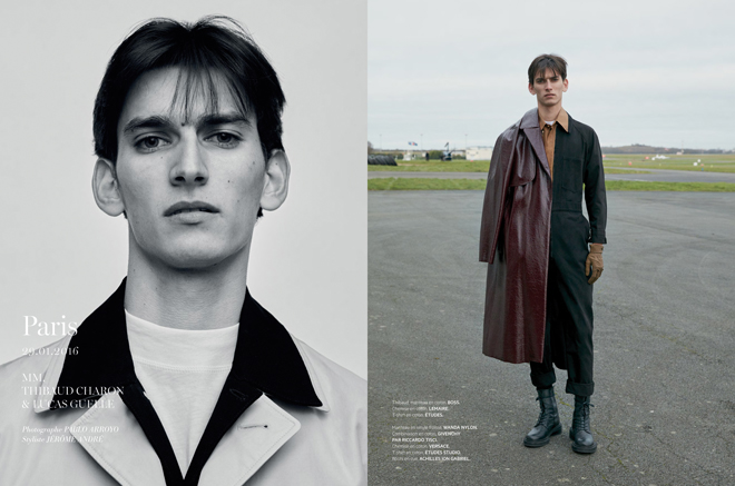 ©Pablo Arroyo - L'officiel hommes Paris