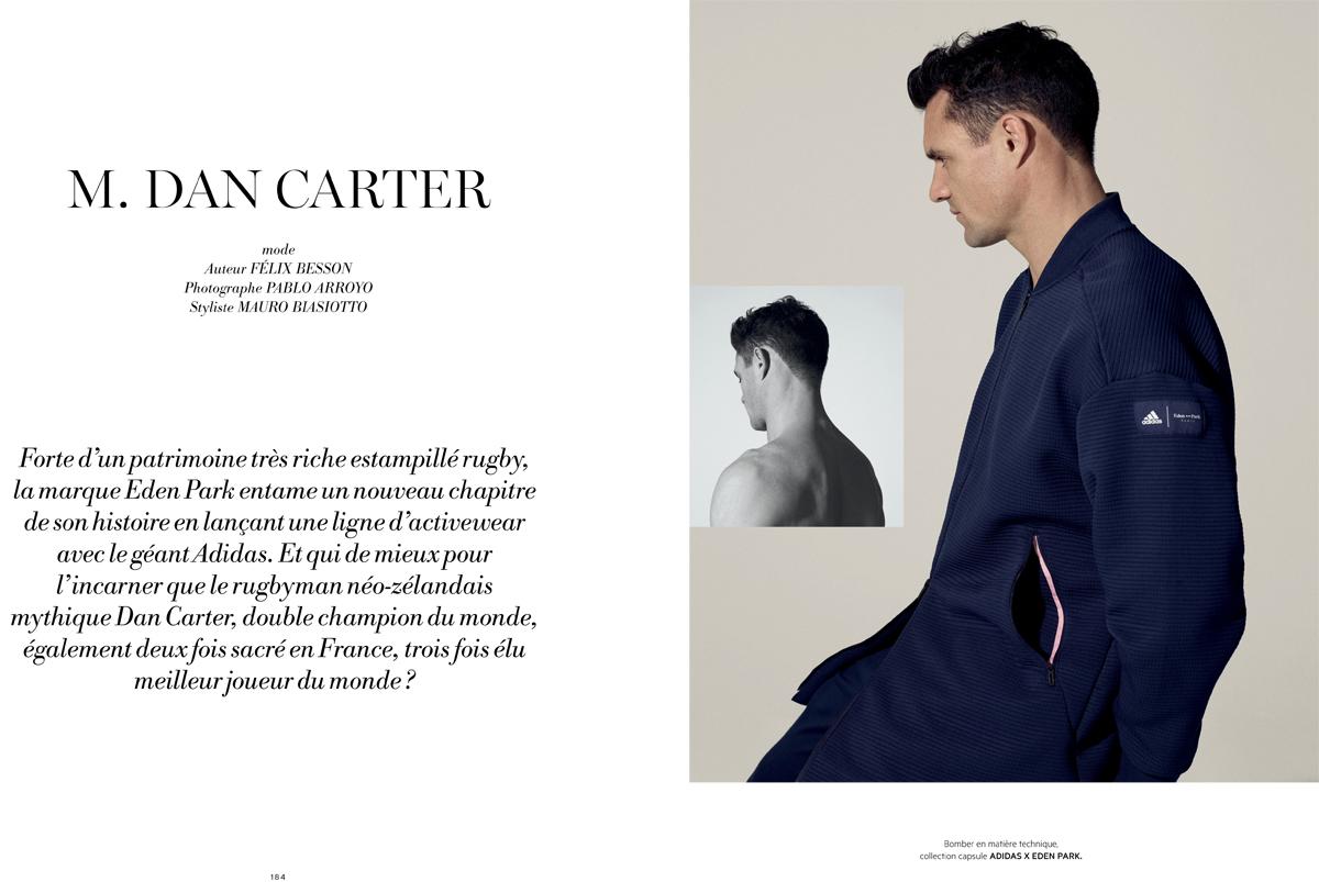 d219328233d31f BACK TO PABLO ARROYO S GALLERY. Eden Park Paris – Adidas Paris L OFFICIEL  HOMMES + . Dan CARTER